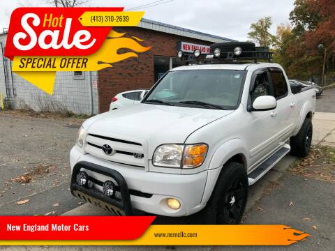 2004 Toyota Tundra for sale at New England Motor Cars in Springfield MA