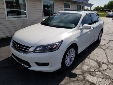 2015 Honda Accord for sale at Larry Schaaf Auto Sales in Saint Marys OH