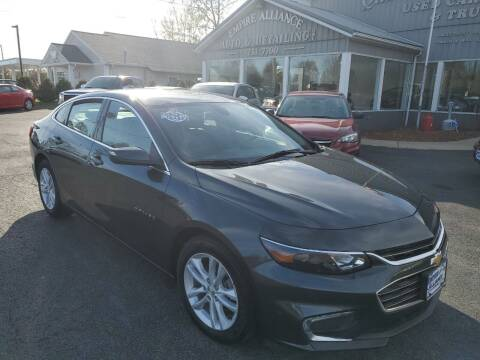 2018 Chevrolet Malibu for sale at Empire Alliance Inc. in West Coxsackie NY