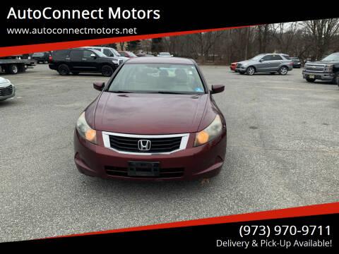 2009 Honda Accord for sale at AutoConnect Motors in Kenvil NJ