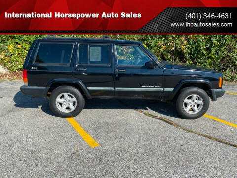 1999 Jeep Cherokee for sale at International Horsepower Auto Sales in Warwick RI