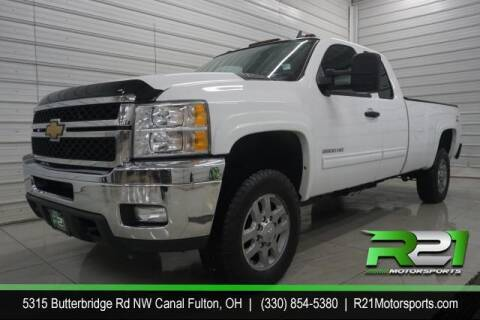 2011 Chevrolet Silverado 2500HD for sale at Route 21 Auto Sales in Canal Fulton OH