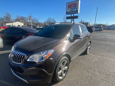 2014 Buick Encore for sale at Motor City Sales in Wichita KS