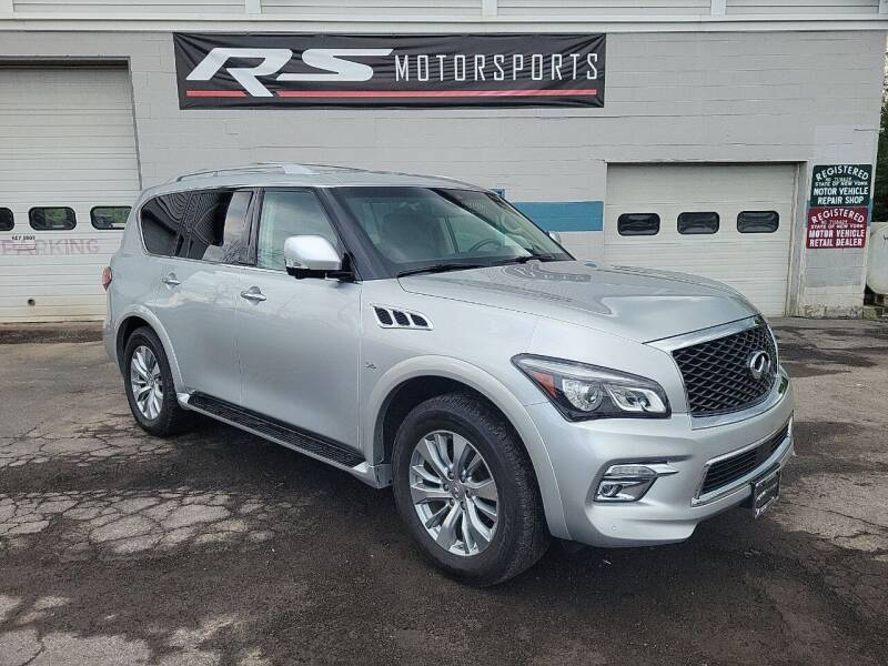 2017 Infiniti QX80 for sale at RS Motorsports, Inc. in Canandaigua NY