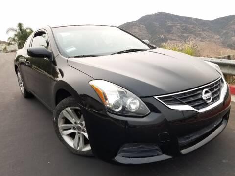 2012 Nissan Altima for sale at Trini-D Auto Sales Center in San Diego CA