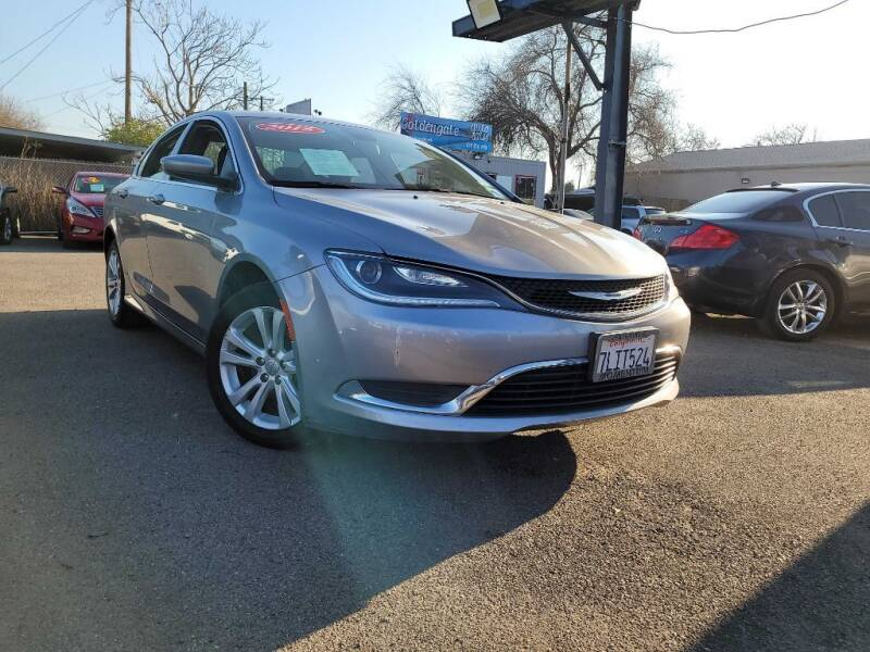 2015 Chrysler 200 for sale at Golden Gate Auto Sales in Stockton CA