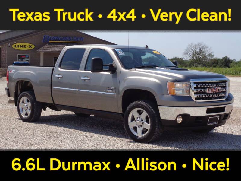 2012 GMC Sierra 2500HD for sale at Burkholder Truck Sales LLC (Versailles) in Versailles MO