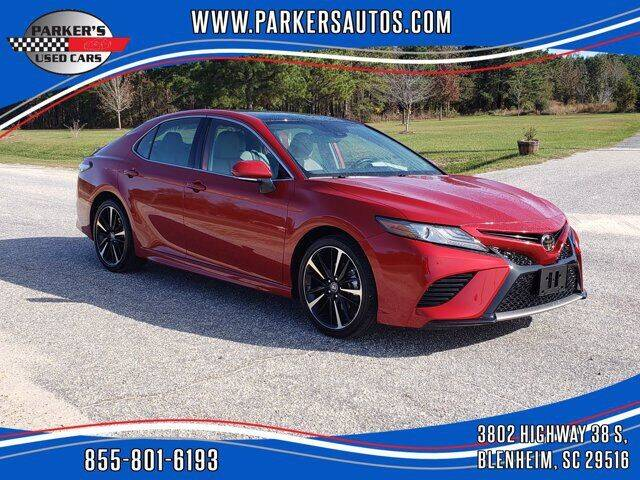 2019 Toyota Camry for sale at Parker's Used Cars in Blenheim SC