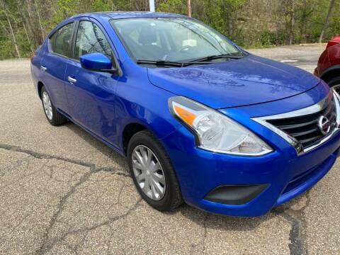 2017 Nissan Versa for sale at Matt Jones Preowned Auto in Wheeling WV