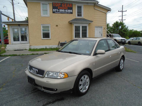 2001 Audi A4 for sale at Top Gear Motors in Winchester VA