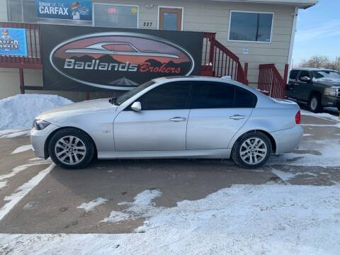 2007 BMW 3 Series for sale at Badlands Brokers in Rapid City SD