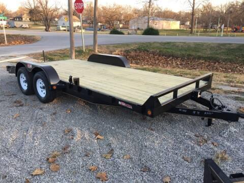 "2021 GRTrailers 82""x18' 7k dove Car Trailer for sale at Bailey Auto in Pomona KS"