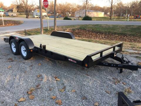 "2021 GRTrailers 82""x18' 7k dove tail Car Trail for sale at Bailey Auto in Pomona KS"