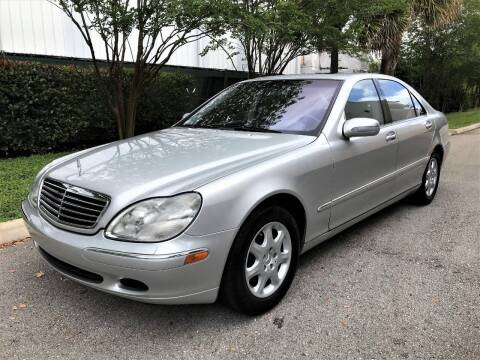2001 Mercedes-Benz S-Class for sale at DENMARK AUTO BROKERS in Riviera Beach FL