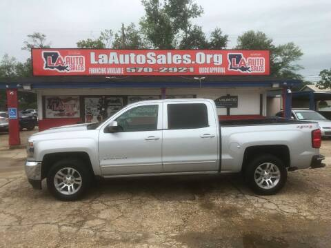 2016 Chevrolet Silverado 1500 for sale at LA Auto Sales in Monroe LA