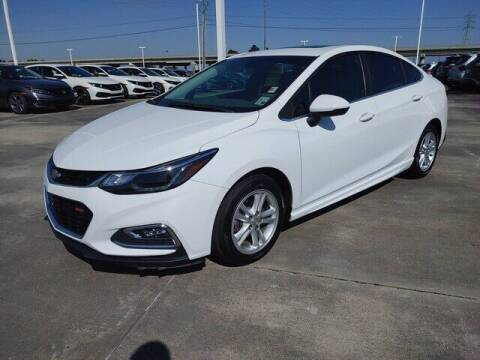 2017 Chevrolet Cruze for sale at J P Thibodeaux Used Cars in New Iberia LA