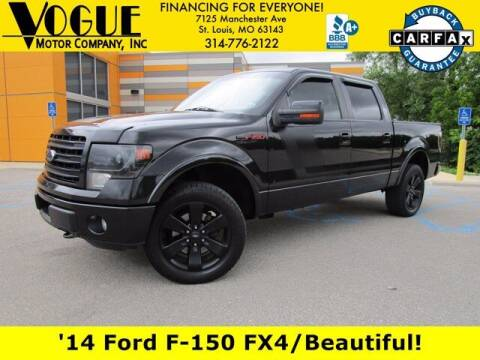 2014 Ford F-150 for sale at Vogue Motor Company Inc in Saint Louis MO