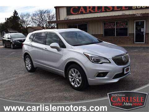 2017 Buick Envision for sale at Carlisle Motors in Lubbock TX