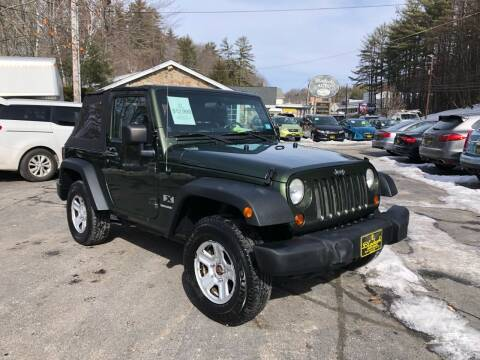 2008 Jeep Wrangler for sale at Bladecki Auto in Belmont NH