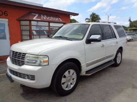 2008 Lincoln Navigator for sale at Z MOTORS INC in Hollywood FL