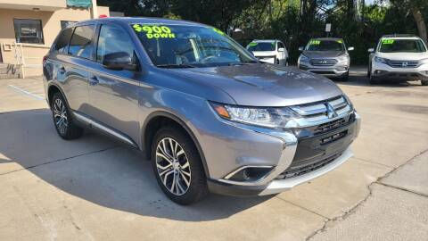 2018 Mitsubishi Outlander for sale at Dunn-Rite Auto Group in Longwood FL