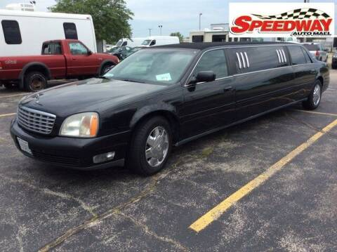 2002 Cadillac DeVille for sale at SPEEDWAY AUTO MALL INC in Machesney Park IL