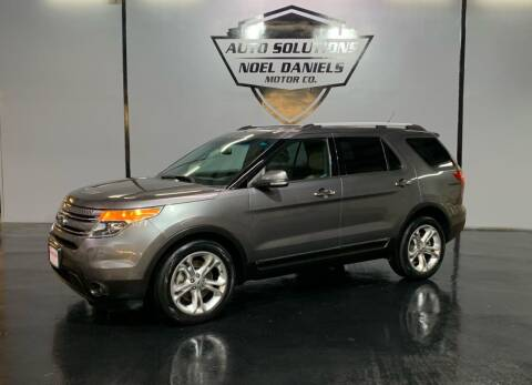 2014 Ford Explorer for sale at Noel Daniels Motor Company in Ridgeland MS