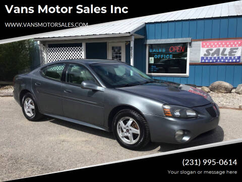 2004 Pontiac Grand Prix for sale at Vans Motor Sales Inc in Traverse City MI