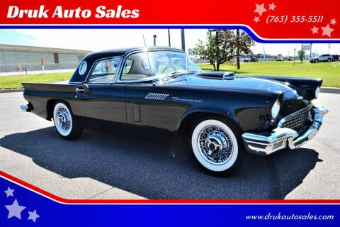 1957 Ford Thunderbird for sale at Druk Auto Sales in Ramsey MN