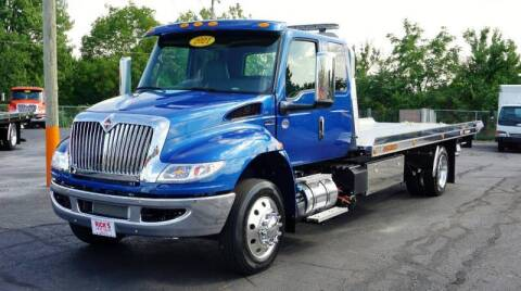 2021 International MV Ext. Cab for sale at Rick's Truck and Equipment in Kenton OH