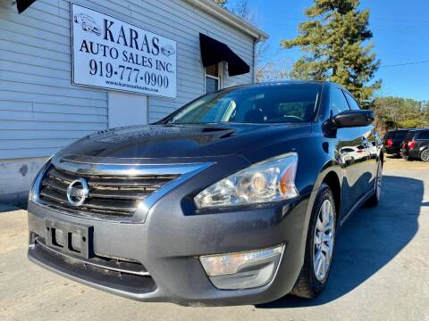 2013 Nissan Altima for sale at Karas Auto Sales Inc. in Sanford NC