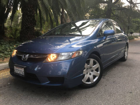 2010 Honda Civic for sale at Valley Coach Co Sales & Lsng in Van Nuys CA