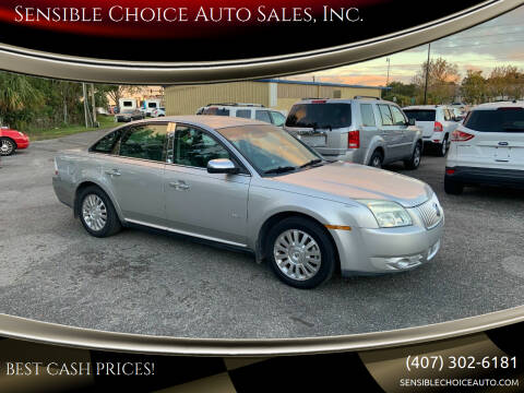 2008 Mercury Sable for sale at Sensible Choice Auto Sales, Inc. in Longwood FL