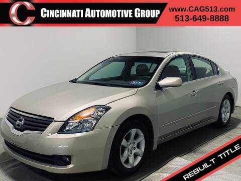 2009 Nissan Altima for sale at Cincinnati Automotive Group in Lebanon OH