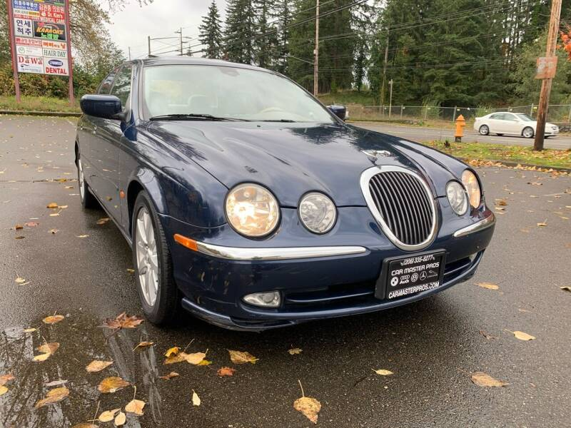 2000 Jaguar S-Type for sale at CAR MASTER PROS AUTO SALES in Lynnwood WA