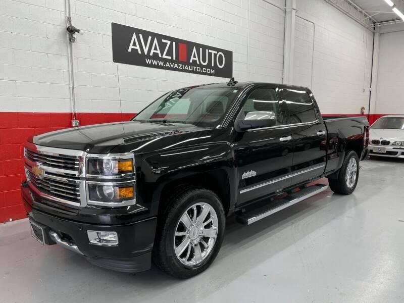 2015 Chevrolet Silverado 1500 for sale at AVAZI AUTO GROUP LLC in Gaithersburg MD