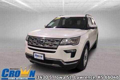 2018 Ford Explorer for sale at Crown Automotive of Lawrence Kansas in Lawrence KS