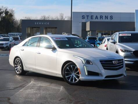2016 Cadillac CTS for sale at Stearns Ford in Burlington NC