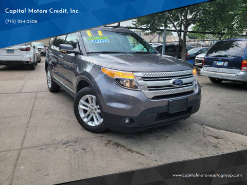 2011 Ford Explorer for sale at Capital Motors Credit, Inc. in Chicago IL