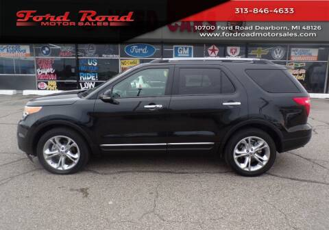 2011 Ford Explorer for sale at Ford Road Motor Sales in Dearborn MI