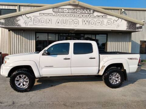 2012 Toyota Tacoma for sale at Don Auto World in Houston TX