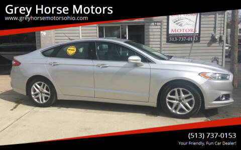 2013 Ford Fusion for sale at Grey Horse Motors in Hamilton OH