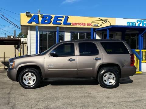 2013 Chevrolet Tahoe for sale at Abel Motors, Inc. in Conroe TX