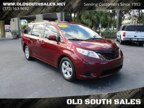 2015 Toyota Sienna for sale at OLD SOUTH SALES in Vero Beach FL
