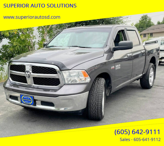 2017 RAM Ram Pickup 1500 for sale at SUPERIOR AUTO SOLUTIONS in Spearfish SD