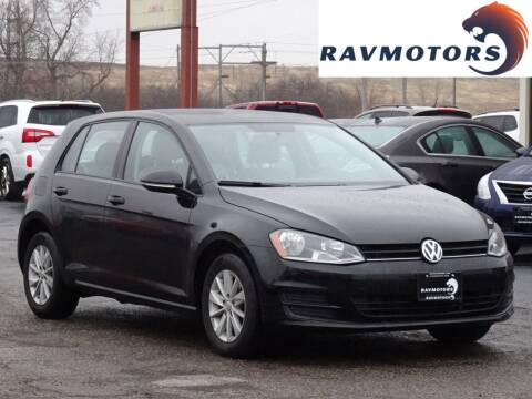 2017 Volkswagen Golf for sale at RAVMOTORS in Burnsville MN