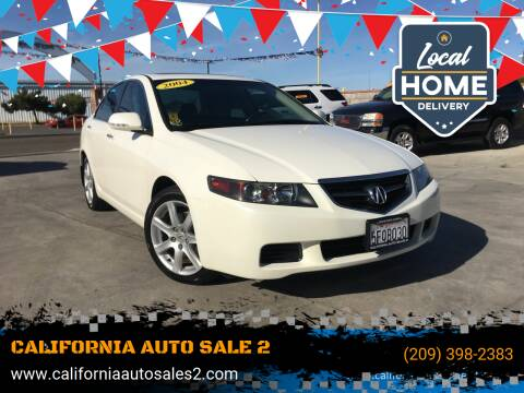 2004 Acura TSX for sale at CALIFORNIA AUTO SALE 2 in Livingston CA