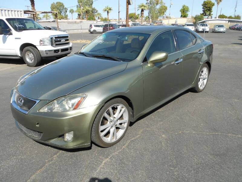 2006 Lexus IS 250 for sale at COUNTRY CLUB CARS in Mesa AZ
