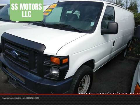 2008 Ford E-Series Cargo for sale at SS MOTORS LLC in Edmonds WA