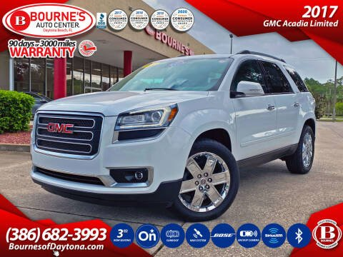 2017 GMC Acadia Limited for sale at Bourne's Auto Center in Daytona Beach FL
